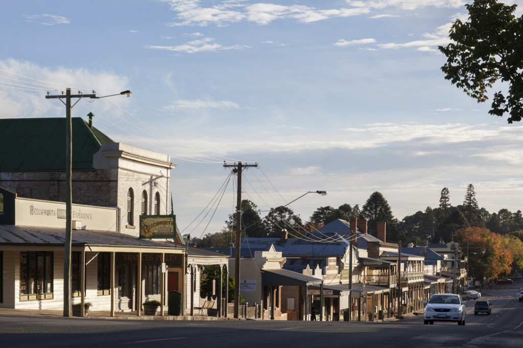 Ford Street Beechworth - South